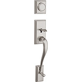 Hawthorne Handlesets, Satin Nickel 802HE LIP 15 | Kwikset Door Hardware