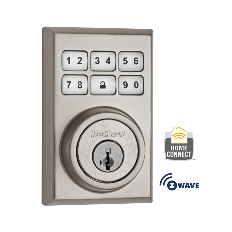 Smartcode 910 Contemporary Deadbolt With Home Connect Kwikset