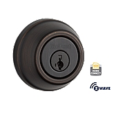 Traditional Deadbolt with Home Connect, 1st Gen  , Venetian Bronze 910 S TRL ZW 11P SMT | Kwikset Door Hardware