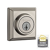 Contemporary Deadbolt with Home Connect