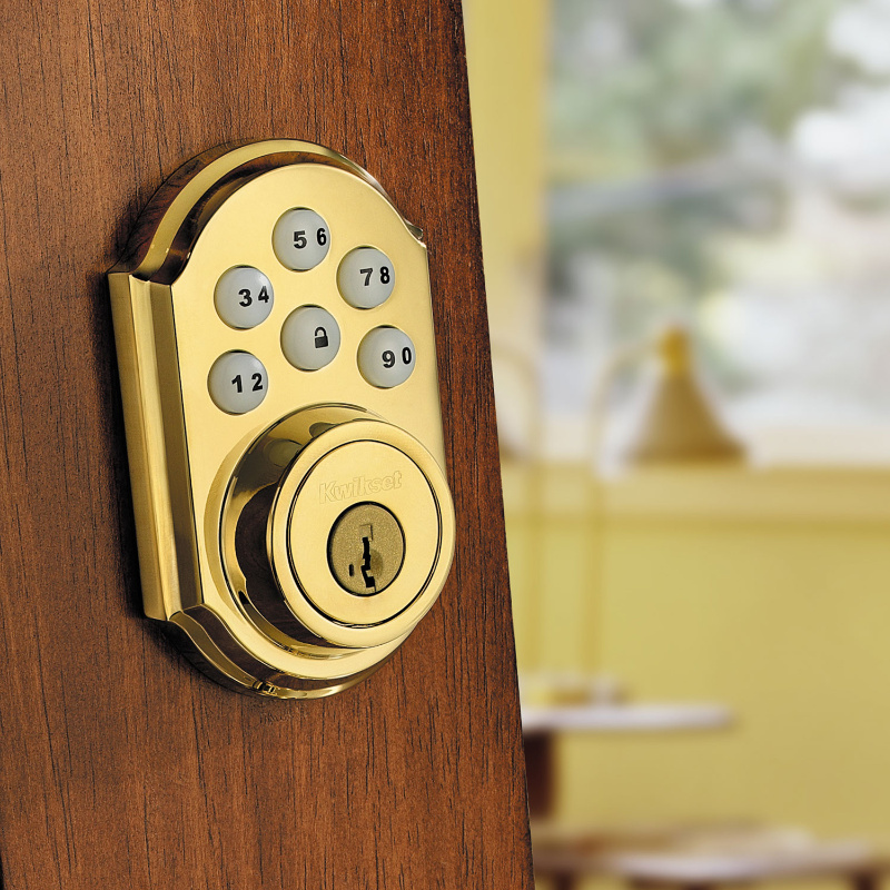 Traditional SmartCode Deadbolt with Z-Wave Technology