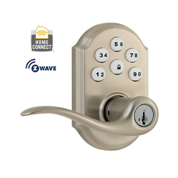 Kwikset Smartcode Lever With Z Wave Technology