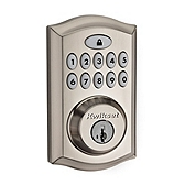 SmartCode Deadbolt , Satin Nickel 913TRL 15 UL | Kwikset Door Hardware
