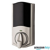 Kwikset Convert Smart Lock Conversion Kit Amazon Key Edition , Satin Nickel 914 AMZ CONVERT 15 | Kwikset Door Hardware
