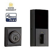 Contemporary Deadbolt with Home Connect, 2nd Gen  , Venetian Bronze 914 S 2 CNT ZW500 11P | Kwikset Door Hardware