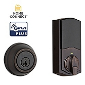 Traditional Deadbolt with Home Connect, 2nd Gen , Venetian Bronze 914 S 2 TRL ZW500 11P | Kwikset Door Hardware