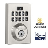 SmartCode 914 Contemporary Deadbolt , Satin Nickel 914CNT ZW500 15 SMT | Kwikset Door Hardware