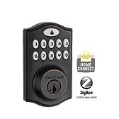SmartCode Deadbolt with Home Connect , Venetian Bronze 914TRL ZB 11P UL | Kwikset Door Hardware