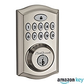 SmartCode 914 Deadbolt Amazon Key Edition , Satin Nickel 914TRL AMZ 15 | Kwikset Door Hardware