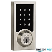 SmartCode 916 Contemporary Deadbolt Amazon Key Edition , Venetian Bronze 916CNT AMZ 11P SMT | Kwikset Door Hardware