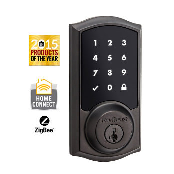 Smartcode 916 Touchscreen Electronic Deadbolt With Zigbee