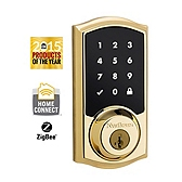 SmartCode Deadbolt  , Lifetime Polished Brass 916TRL ZB L03 UL | Kwikset Door Hardware