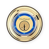 Kevo 2nd Gen Deadbolt , Lifetime Polished Brass 925 KEVO 2 DB L03 | Kwikset Door Hardware
