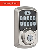 Aura Deadbolt , Satin Nickel 942 BLE DB 15 SMT | Kwikset Door Hardware