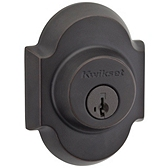 Austin Single Cylinder Deadbolts, Venetian Bronze 980AUD 11P SMT | Kwikset Door Hardware
