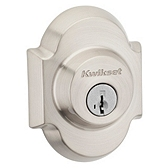 Austin Single Cylinder Deadbolts, Satin Nickel 980AUD 15 SMT | Kwikset Door Hardware