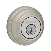 980/985 Deadbolt , Satin Nickel 985 15 SMT | Kwikset Door Hardware