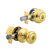 Cameron Combo Pack  , Polished Brass 991CN 3 SMT | Kwikset Door Hardware