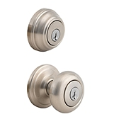 Juno Combo Pack  , Satin Nickel 991J 15 SMT | Kwikset Door Hardware