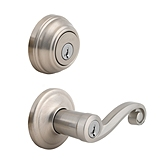Lido Combo Pack , Satin Nickel 991LL 15 SMT | Kwikset Door Hardware
