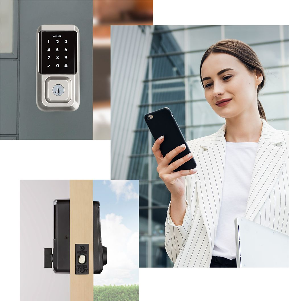 Lock or unlock your Wi-Fi front door smart lock from anywhere