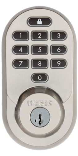 Traditional style Halo Wi-Fi smart front door lock