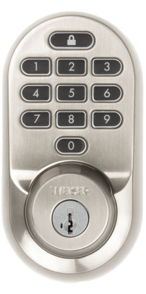 Halo Wi-Fi smart lock in traditional style