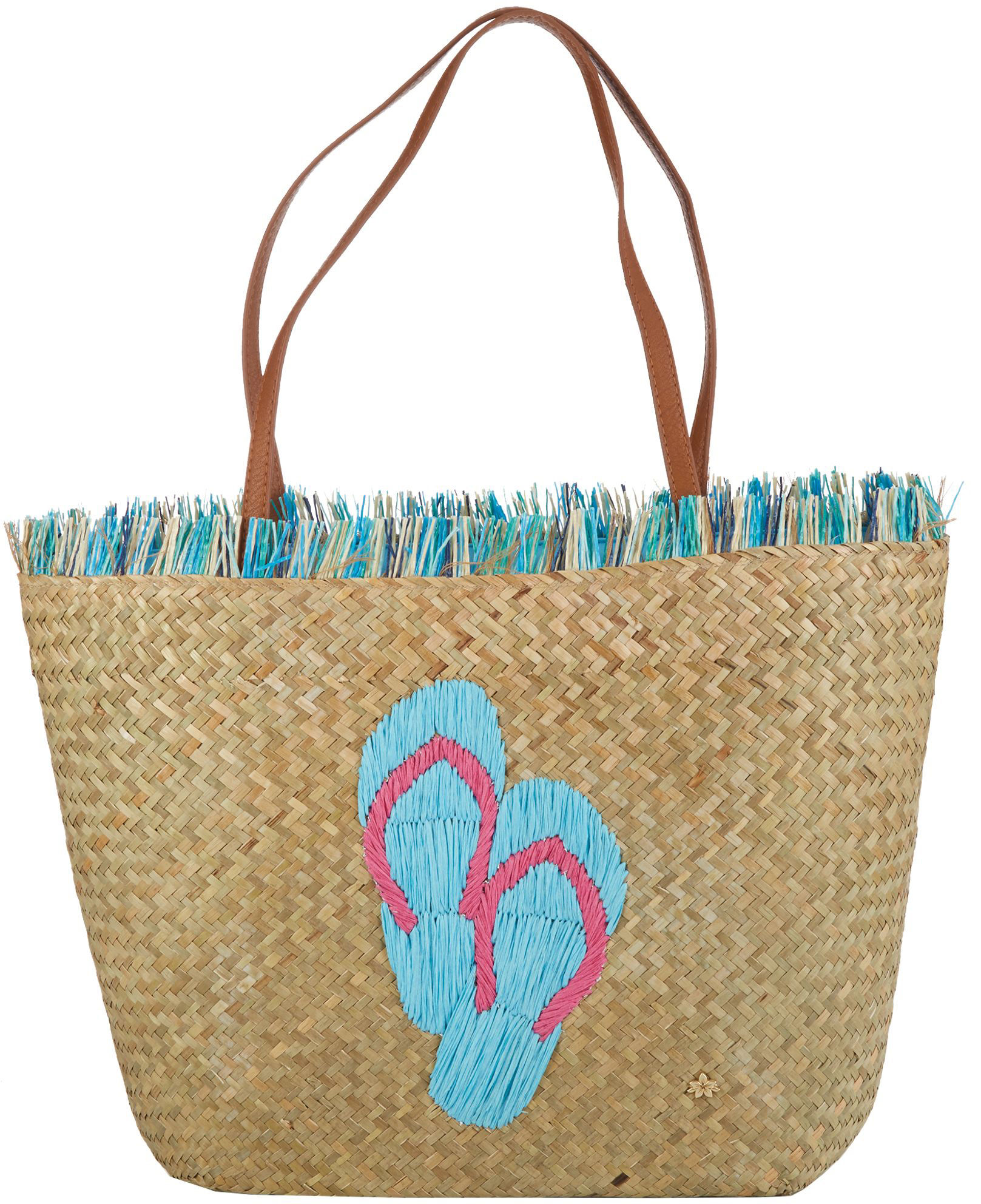 Image Is Loading Capelli Flip Flops Beach Bag Tote One Size