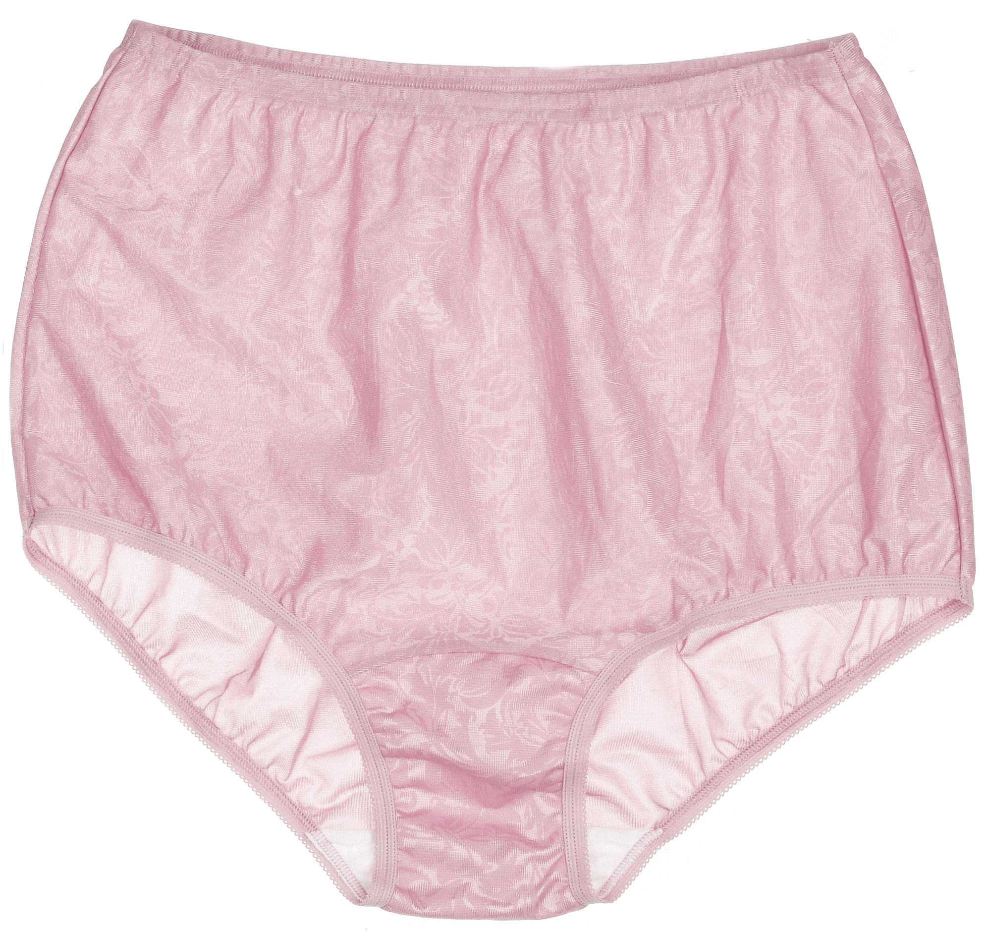 2 Vanity Fair Brief Panty Nylon Perfectly Yours 8 XL