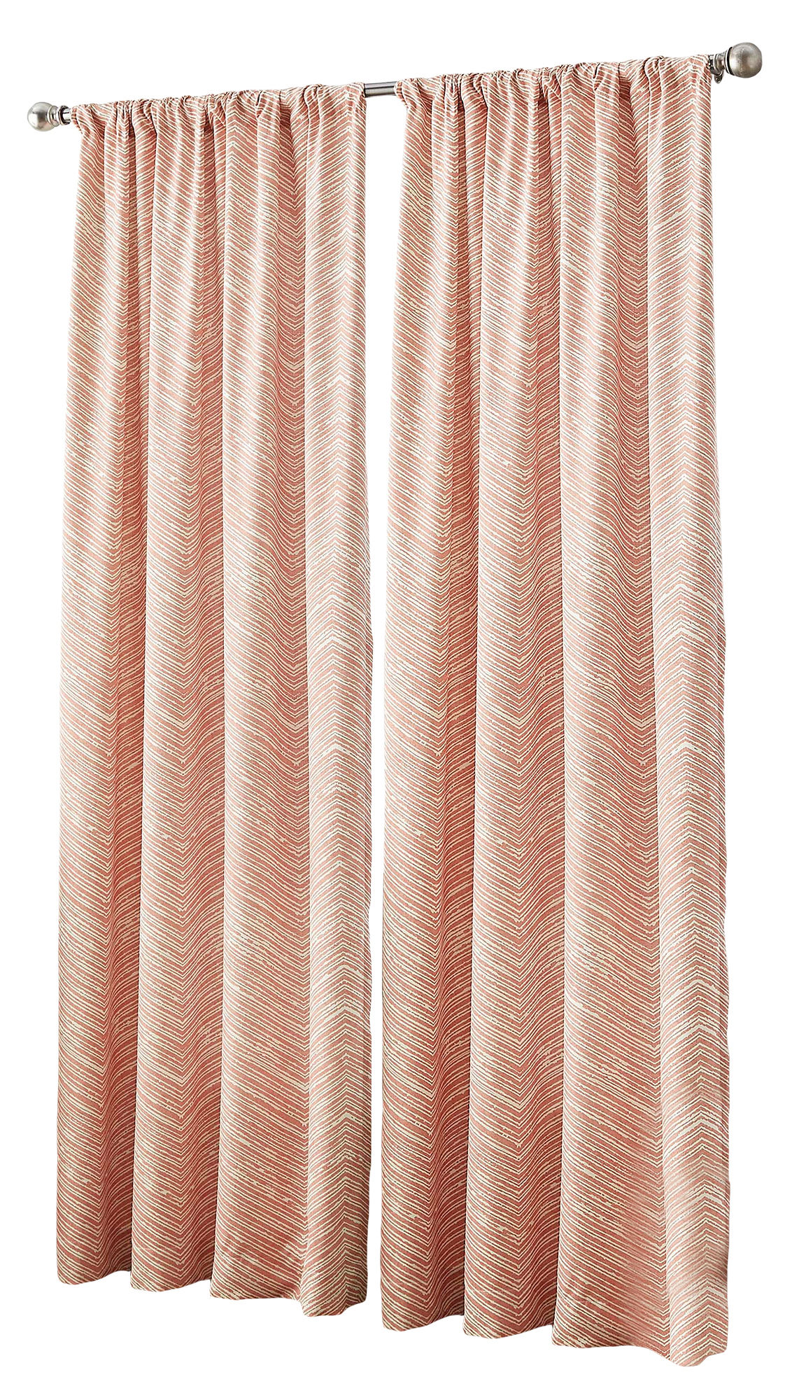 chf fossil midweight rod pocket curtain panel