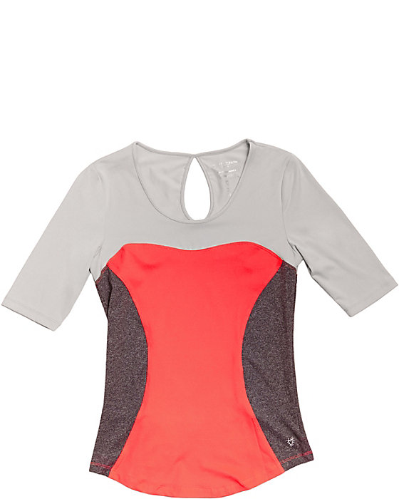 Betsey Johnson COLORBLOCK WORKOUT TOP