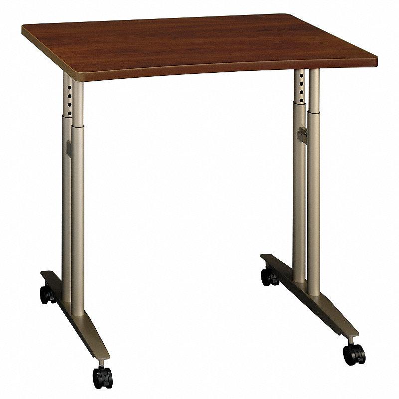 Series C Adjule Height Mobile Table Hansen Cherry Bshwc24482 Office Furniture Zuma