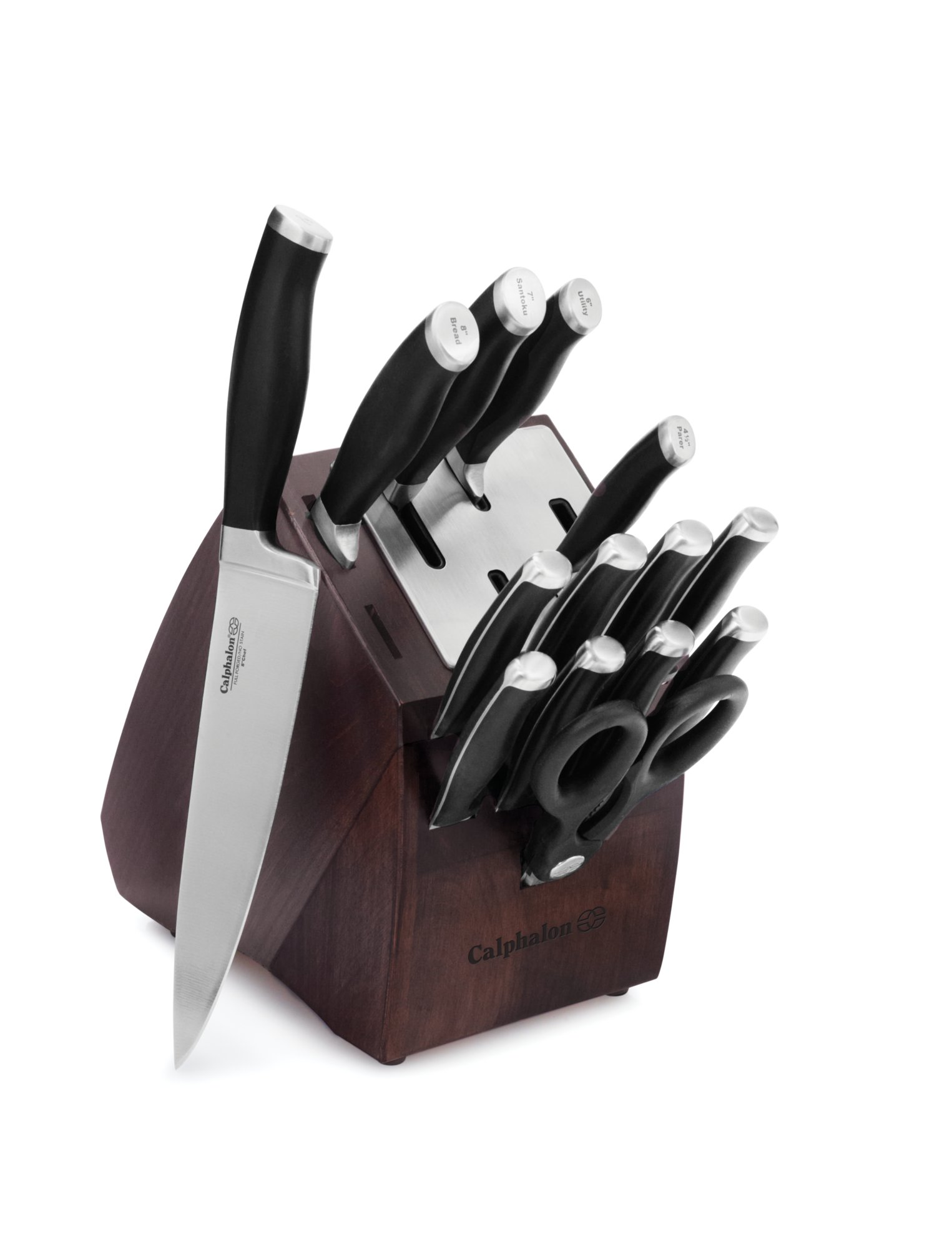 Calphalon Contemporary Self-Sharpening 15-pc. Cutlery Set with SharpIN Technology