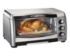 Hamilton Beach Easy Reach Convection Toaster Oven 6 slice