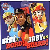 Paw Patrol Baby On Board Car Window Sign