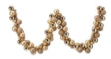 Canvas Gold Shatterproof Ball Garland, 6 Ft by Canadian Tire
