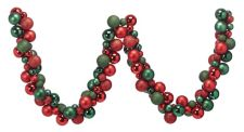 Canvas Red Ball Garland, 6 Ft by Canadian Tire