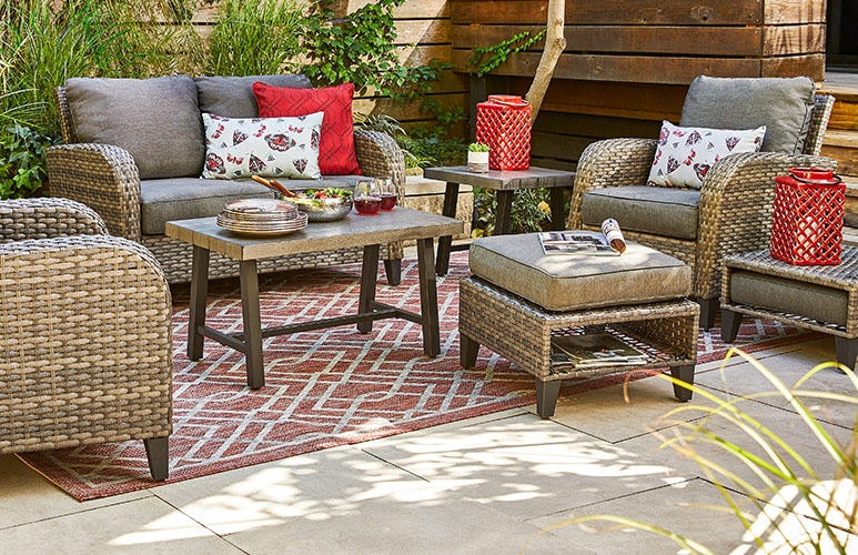 Patio Ideas Inspiration Patio Decor Patio Dining Outdoor Dining Outdoor Patio Furniture Canadian Tire