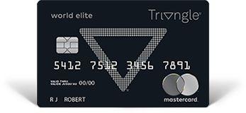 Triangle World Elite Mastercard Triangle