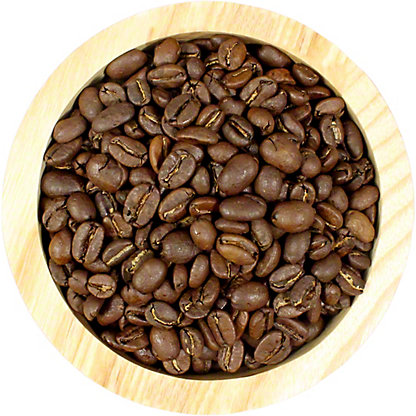 What's Brewing French Roast Decaf Whole Bean Coffee, by lb
