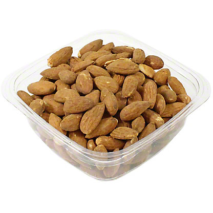 Bulk Spicy Dry Roasted Almonds,LB