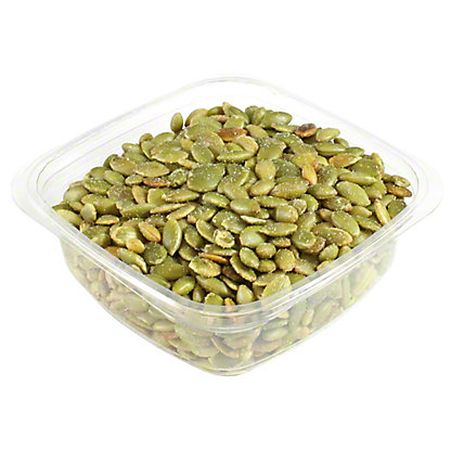 Sunrise Natural Foods Salted Pepitas, sold by the pound