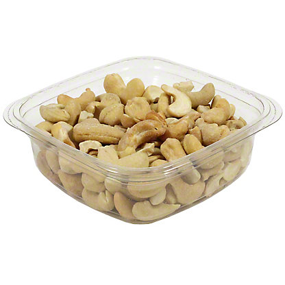 Bulk Roasted Salted Large Whole Cashews, sold by the pound