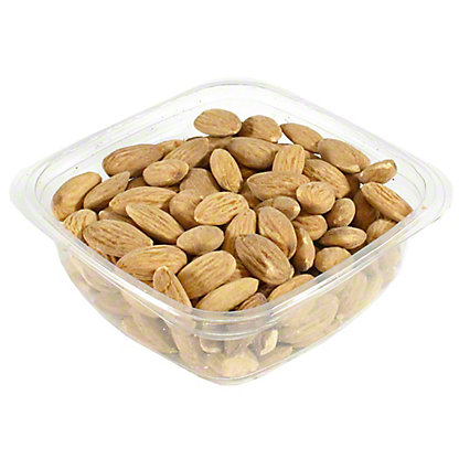 Bulk Roasted & Salted Almonds, sold by the pound
