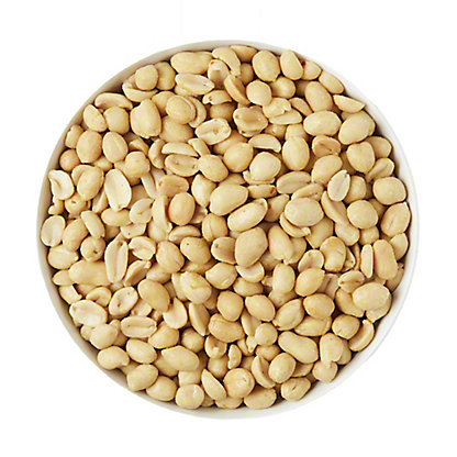 Bulk Roasted and Salted Blanched Peanuts,LB
