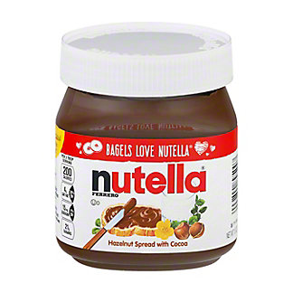 Nutella Hazelnut Spread with Skim Milk & Cocoa,13 oz