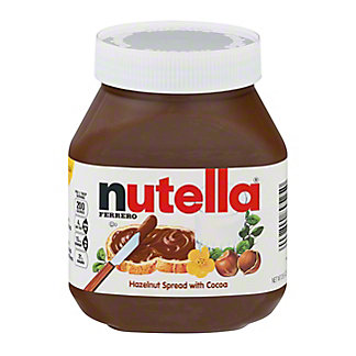 Nutella Hazelnut Spread with Skim Milk & Cocoa,26.5 OZ