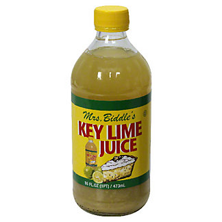 Mrs Biddles Key West Lime Juice,16 OZ