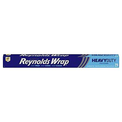 Reynolds Wrap Heavy Duty Aluminum Foil,75 sq ft