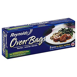 Reynolds Large Size Oven Bags, 5 ct